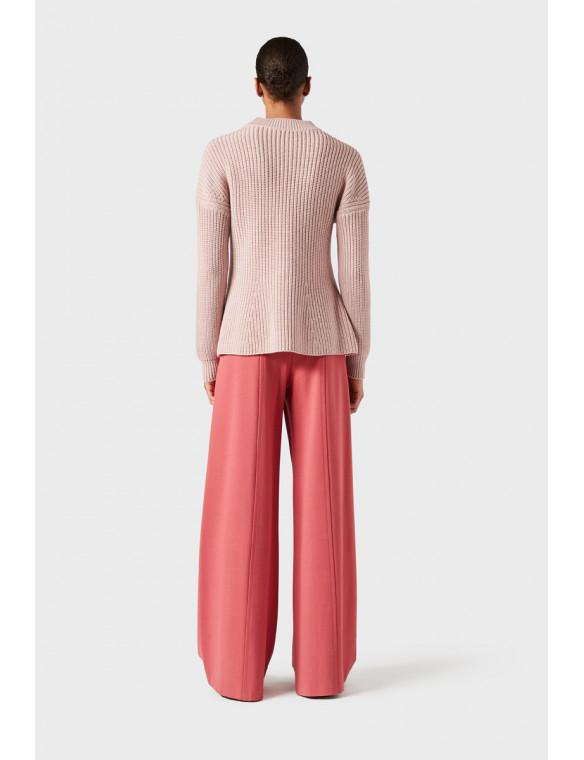 Jersey rosa punto ingles