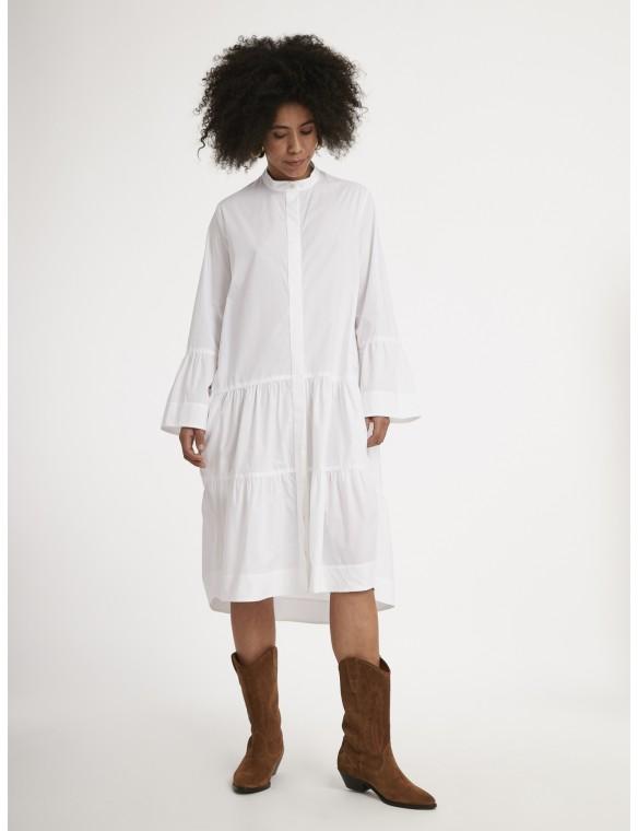 Poplin dress.